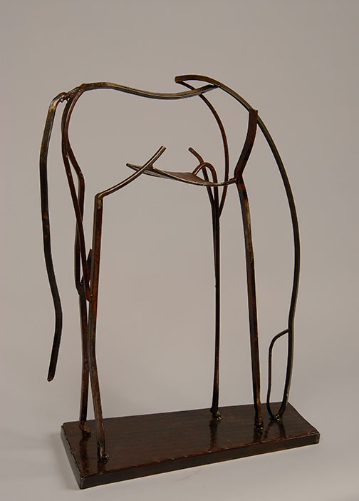4GrazingStudy07steel31x25x9