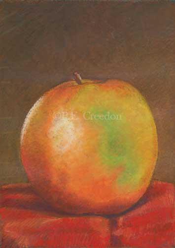 pecreedon_5x7_appleportrait_pastel