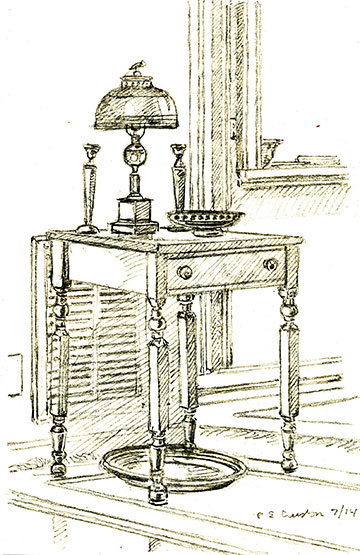 Drawing by P. E. Creedon