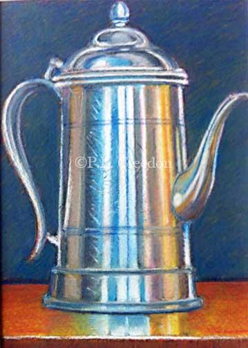 Coffee Pot by P. E. Creedon