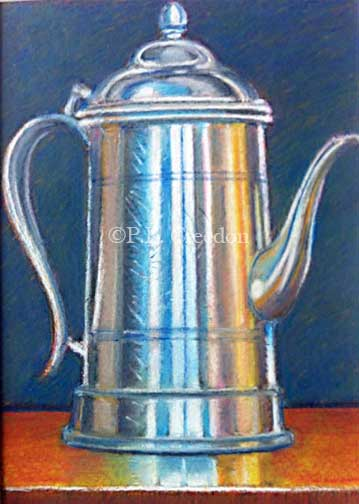 Coffee Pot by P. E. Creedon